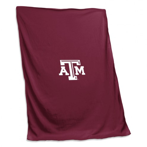 Texas A&M Aggies Sweatshirt Blanket