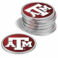 Texas A&M Aggies 12-Pack Golf Ball Markers