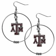 "Texas A&M Aggies 2"" Hoop Earrings"
