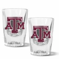 Texas A&M Aggies 2 oz. Prism Shot Glass Set