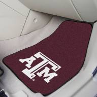 Texas A&M Aggies 2-Piece Carpet Car Mats