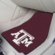 Texas A&M Aggies 2-Piece Carpet Car Mats