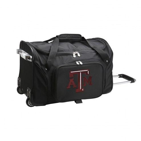 "Texas A&M Aggies 22"" Rolling Duffle Bag"