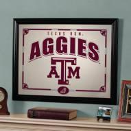 """Texas A&M Aggies 23"""" x 18"""" Mirror"""