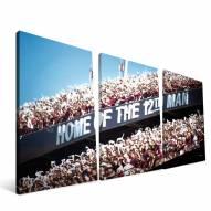 """Texas A&M Aggies 24"""" x 48"""" Stadium Canvas Print"""