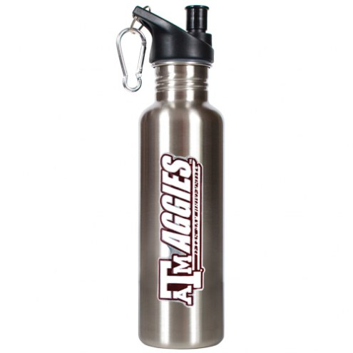 Texas A&M Aggies 26 oz. Stainless Steel Water Bottle