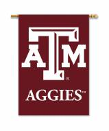 """Texas A&M Aggies 28"""" x 40"""" Two-Sided Banner"""