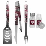 Texas A&M Aggies 3 Piece Tailgater BBQ Set and Salt and Pepper Shakers