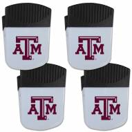 Texas A&M Aggies 4 Pack Chip Clip Magnet with Bottle Opener