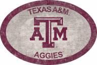 "Texas A&M Aggies 46"" Team Color Oval Sign"