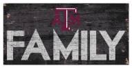 "Texas A&M Aggies 6"" x 12"" Family Sign"