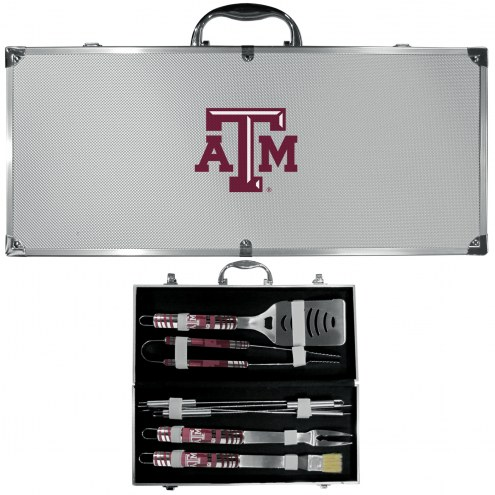 Texas A&M Aggies 8 Piece Tailgater BBQ Set