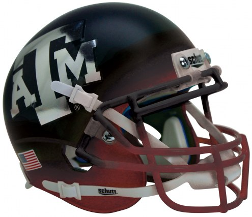 Texas A&M Aggies Alternate 5 Schutt Mini Football Helmet