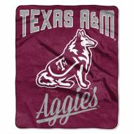 Texas A&M Aggies Alumni Raschel Throw Blanket