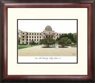 Texas A&M Aggies Alumnus Framed Lithograph