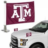 Texas A&M Aggies Ambassador Hood & Trunk Car Flag
