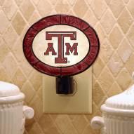 Texas A&M Aggies Art Glass Night Light