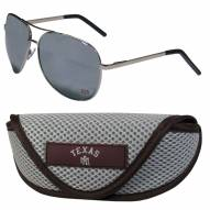 Texas A&M Aggies Aviator Sunglasses and Sports Case