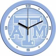Texas A&M Aggies Baby Blue Wall Clock