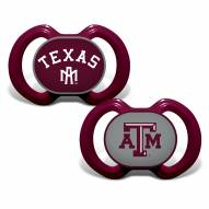 Texas A&M Aggies Baby Pacifier 2-Pack