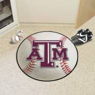 Texas A&M Aggies Baseball Rug