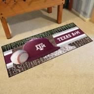 Texas A&M Aggies Baseball Runner Rug