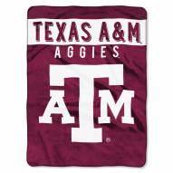 Texas A&M Aggies Basic Raschel Blanket
