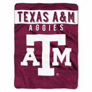 Texas A&M Aggies Basic Raschel Blanket
