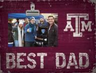 Texas A&M Aggies Best Dad Clip Frame