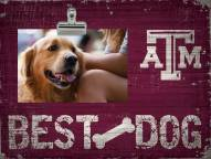 Texas A&M Aggies Best Dog Clip Frame