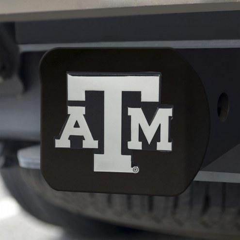 Texas A&M Aggies Black Matte Hitch Cover