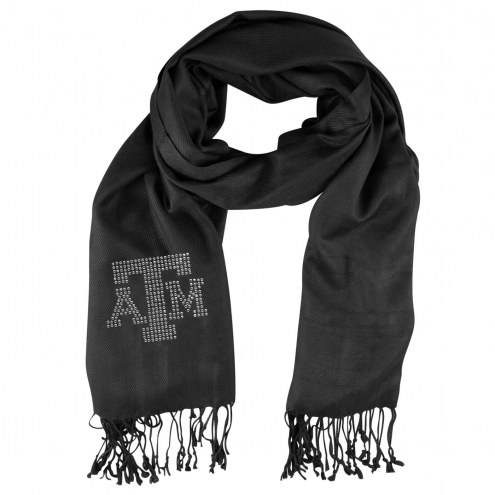 Texas A&M Aggies Black Pashi Fan Scarf