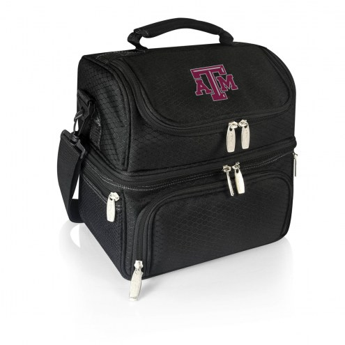 Texas A&M Aggies Black Pranzo Insulated Lunch Box