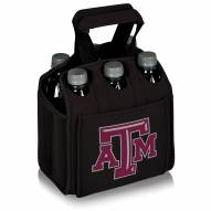 Texas A&M Aggies Black Six Pack Cooler Tote