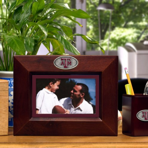 Texas A&M Aggies Brown Landscape Picture Frame