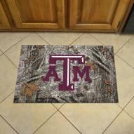Texas A&M Aggies Camo Scraper Door Mat