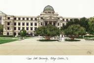 Texas A&M Aggies Campus Images Lithograph