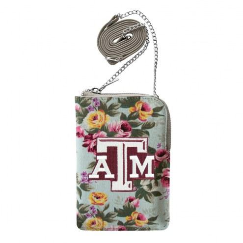 Texas A&M Aggies Canvas Floral Smart Purse