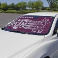 Texas A&M Aggies Car Sun Shade