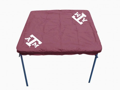 Texas A&M Aggies Card Table Cover