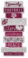 Texas A&M Aggies Celebrations Stack Sign