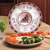 Texas A&M Aggies Ceramic Chip and Dip Serving Dish
