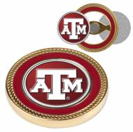 Texas A&M Aggies Challenge Coin with 2 Ball Markers