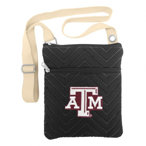 Texas A&M Aggies Chevron Stitch Crossbody Bag