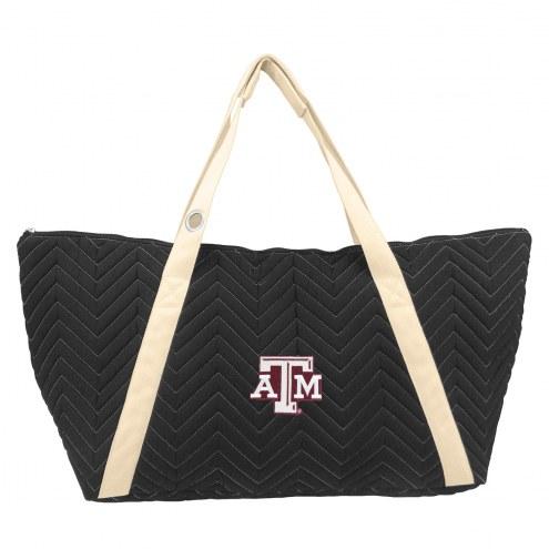 Texas A&M Aggies Chevron Stitch Weekender Bag