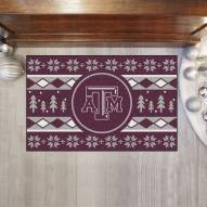 Texas A&M Aggies Christmas Sweater Starter Rug