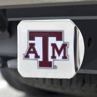 Texas A&M Aggies Chrome Color Hitch Cover