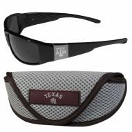Texas A&M Aggies Chrome Wrap Sunglasses & Sports Case