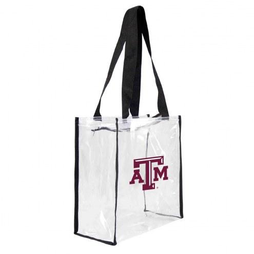 Texas A&M Aggies Clear Square Stadium Tote