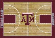 Texas A&M Aggies College Home Court Area Rug